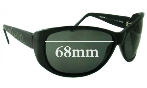 Smith Novella Replacement Sunglass Lenses - 68mm Wide