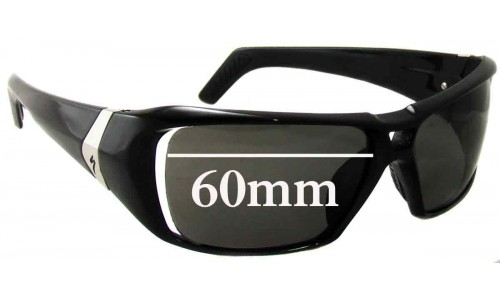 Specialized El Toro Replacement Sunglass Lenses - 60mm wide