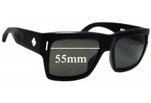 Spy Optics Bowery Replacement Sunglass Lenses - 55mm Wide