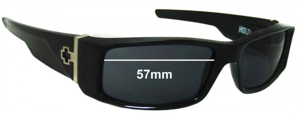 f6ab40a55e Spy Optics Hielo Replacement Lenses 57mm by The Sunglass Fix®