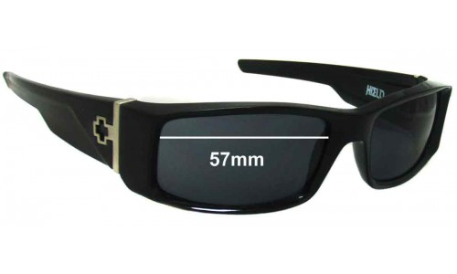 Spy Optics Hielo Replacement Sunglass Lenses - 57mm Wide