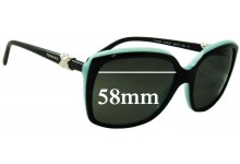 Tiffany & Co TF4076 Replacement Sunglass Lenses - 58mm Wide