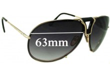 Tom Ford Hawkings TF1 772 Replacement Sunglass Lenses - 63mm wide