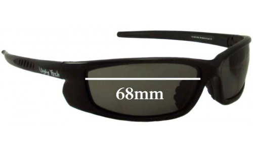 Ugly Fish Model RS3800 Replacement Sunglass Lenses - 68mm Wide