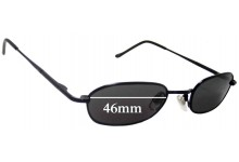 Unknown Unidentified Replacement Sunglass Lenses - 46mm Wide