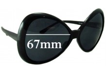 Unknown Unidentified DYPHC 175 Replacement Sunglass Lenses - 67mm Wide