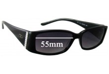 Valentino 5342/S Replacement Sunglass Lenses - 55mm Wide