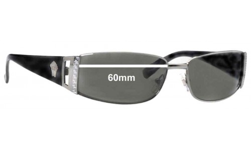Versace MOD 2021 Replacement Sunglass Lenses - 60mm Wide