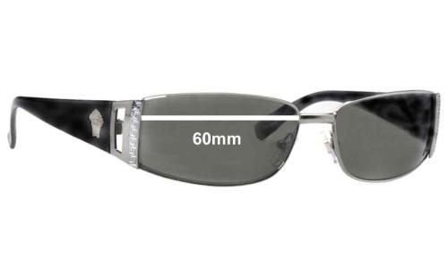 Versace MOD 2021 Replacement Sunglass Lenses - 60mm Wide