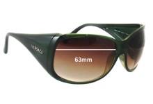 Versace MOD 4065 Replacement Sunglass Lenses - 63mm Wide
