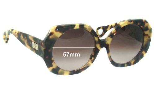 Von Zipper Karmic New Sunglass Lenses - 57mm wide