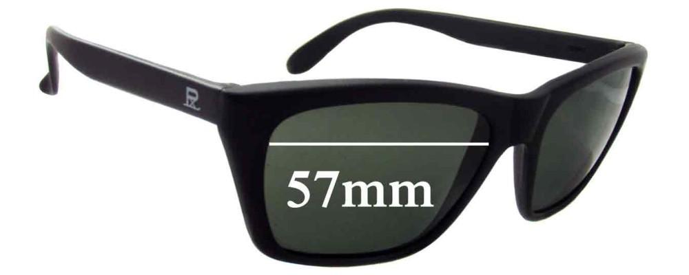 b1e3448bfb21 Vuarnet Pouilloux 006 Replacement Sunglass Lenses - 57mm wide