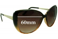 Witchery Linda Replacement Sunglass Lenses - 60mm Wide