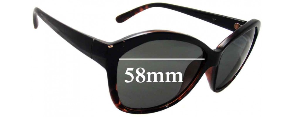 Witchery Yolanda Replacement Sunglass Lenses - 58mm Wide