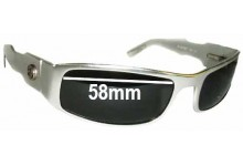 Sunglass Fix Replacement Lenses for 420 Aluminum Raptor - 58mm Wide
