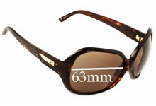 Anon Paparazzi Replacement Sunglass Lenses - 63mm Wide