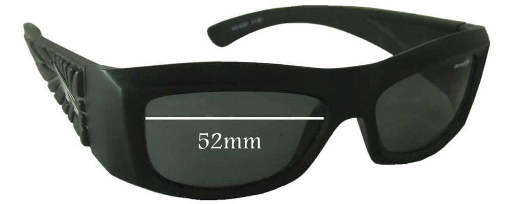 Arnette AN4057 Replacement Sunglass Lenses - 52mm wide