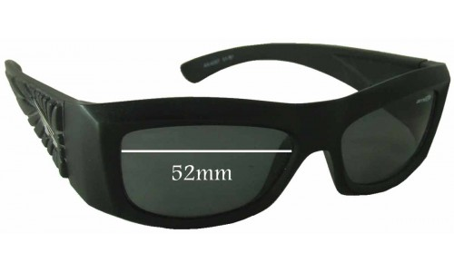 Arnette AN4057 Replacement Sunglass Lenses - 52mm wide