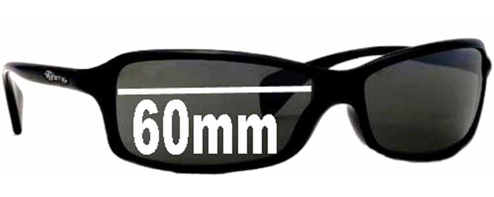 SFX Replacement Sunglass Lenses fits Arnette AN4067 60mm Wide