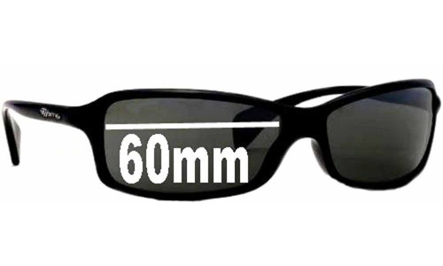 Arnette AN4067 Replacement Sunglass Lenses - 60mm Wide