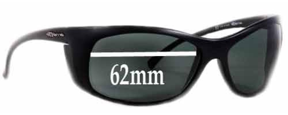 arnette  AN4083 Replacement Sunglass Lenses - 62mm Wide