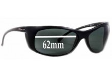 Arnette AN4083 Replacement Sunglass Lenses - 62mm Wide