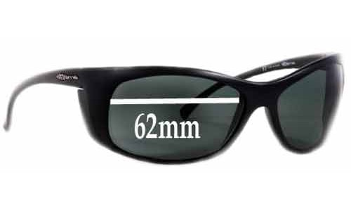 Arnette AN4083 Sunglass Replacement Lenses - 62mm Wide