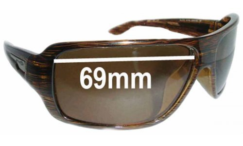 Arnette Bluto AN4136 Replacement Sunglass Lenses - Lens Width 69mm