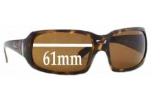 Arnette Rushmore AN4081 Replacement Sunglass Lenses - 61mm wide