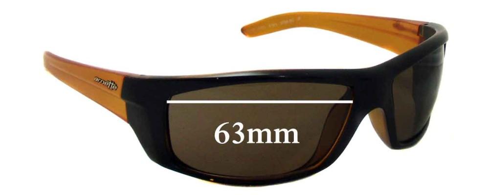 Arnette AN4165 Boneyard Replacement Sunglass Lenses- 63mm wide