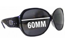 Coach Mimi Replacement Sunglass Lenses 60mm wide