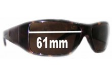 Sunglass Fix New Replacement Lenses for Calvin Klein CK3052S - 61mm Wide