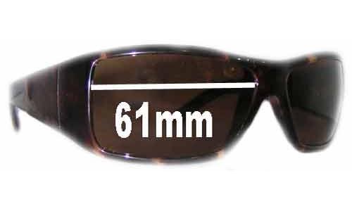 Calvin Klein 3052S Replacement Sunglass Lenses - 61mm wide
