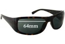 Sunglass Fix New Replacement Lenses for Calvin Klein CK3078S - 64mm Wide