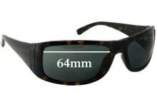 Calvin Klein 3078/S Replacement Sunglass Lenses - 64mm wide