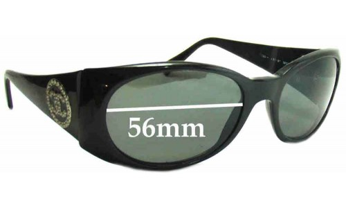 Chanel 5082 H Replacement Sunglass Lenses - 56mm wide
