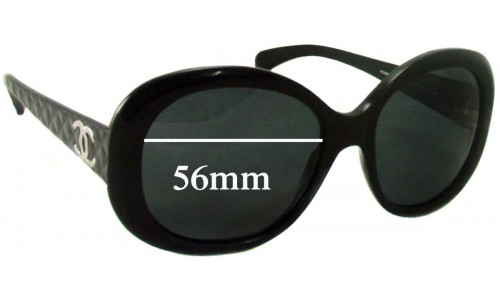 Chanel 5188 Replacement Sunglass Lenses - 56mm wide
