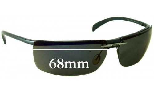 Chanel 6003 Replacement Sunglass Lenses - 68mm wide