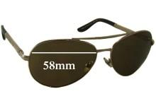 9f123825a3975 Chopard SCH 763S New Sunglass Lenses - 58mm wide. Sunglass Fix Replacement  Lenses for Chopard ...