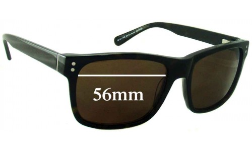 Country Road CR SunRx 06 Replacement Sunglass Lenses - 56mm Wide