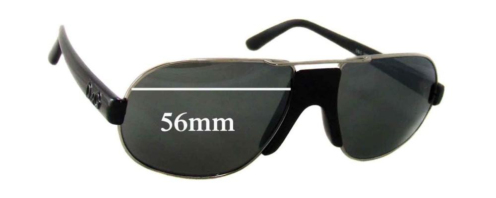 Dolce & Gabbana DG2062 Replacement Sunglass Lenses - 56mm wide