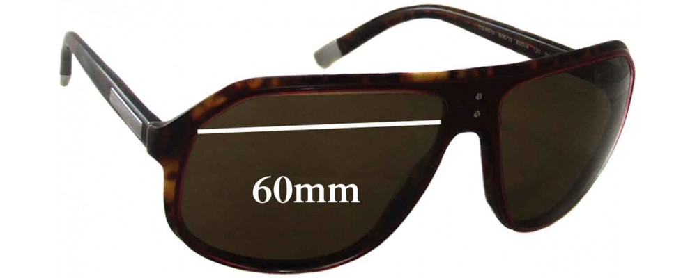 Dolce & Gabbana DG4070 Replacement Sunglass Lenses - 60mm wide