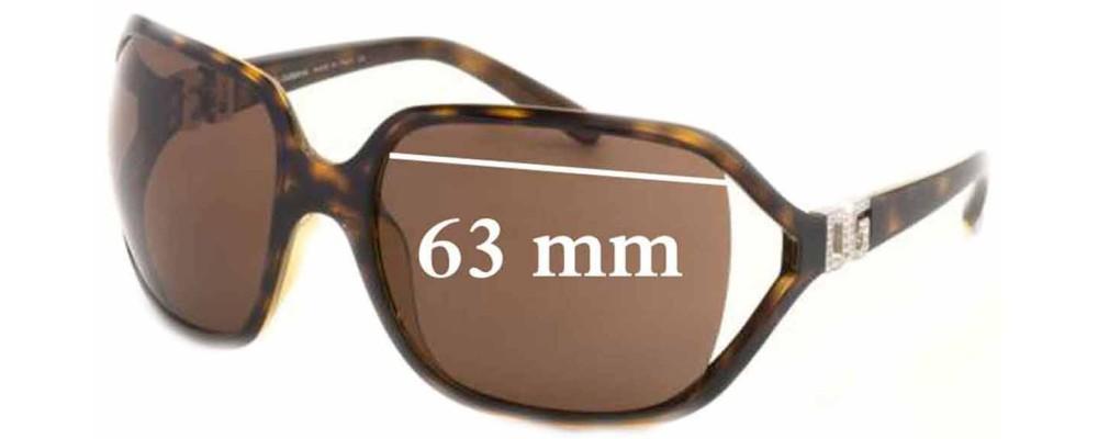 Dolce & Gabbana DG6007B Replacement Sunglass Lenses - 63mm wide