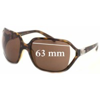 3f59bf02ae04 Sunglass Fix New Replacement Lenses for Dolce   Gabbana DG6007B - 63mm wide