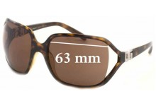 Dolce & Gabbana DG6007B Replacement Sunglass Lenses - 63mm wide
