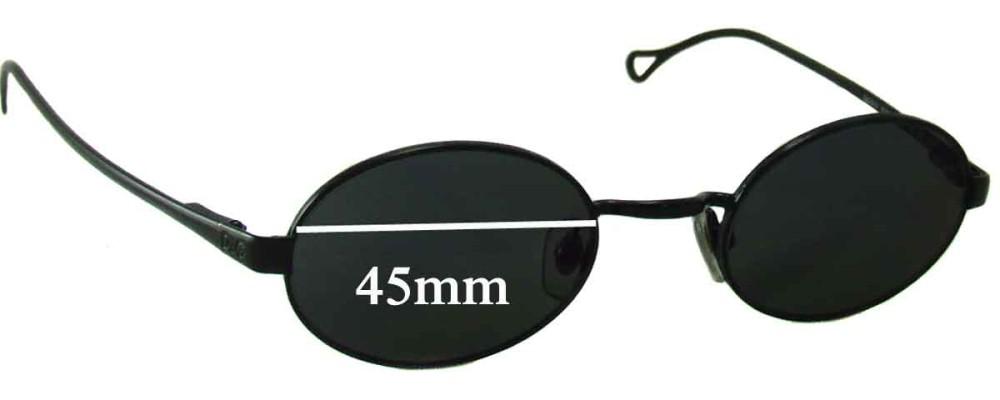 Dolce & Gabbana DG6013 Replacement Sunglass Lenses - 45mm wide