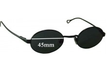 Dolce & Gabbana DG6013 Replacement Sunglass Lenses - 45mm wide