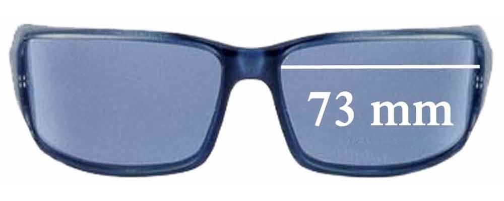 Dolce & Gabbana DG739S Replacement Sunglass Lenses - 73mm wide