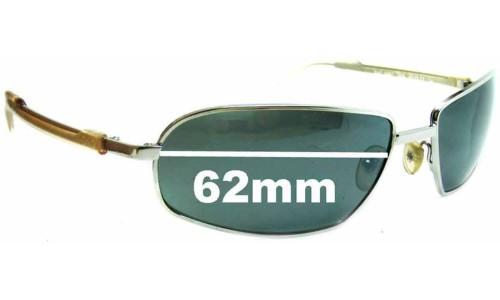 Dolce & Gabbana DG2087 Replacement Sunglass Lenses - 62mm wide