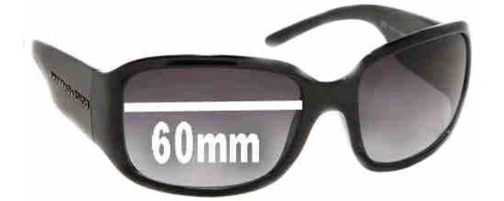 Dolce & Gabbana DG6015 Replacement Sunglass Lenses - 60mm wide
